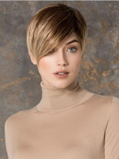 Suitable Blonde Lace Front Cropped Petite Wigs