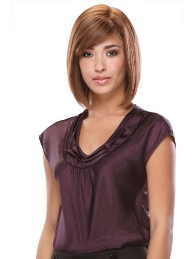 Cosy Monofilament Straight Chin Length Full Lace Wigs