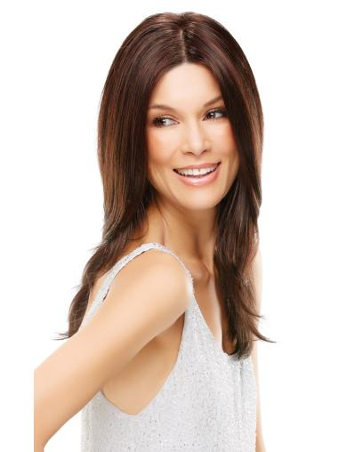 Cosy Auburn Lace Front Synthetic Long Wigs