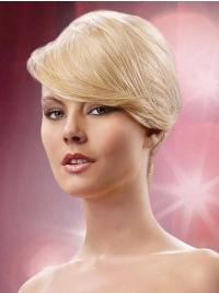 Synthetic Blonde Designed Clip in Hair Extensions