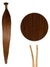 Best Auburn Synthetic Stick-I Tip Hair Extensions