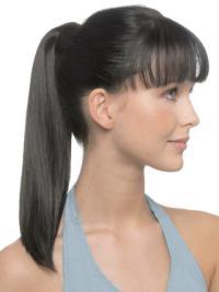 Remy Human Hair Long Black Online Ponytails