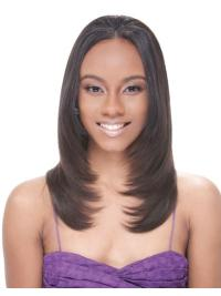 Popular Brown Straight Long African American Wigs