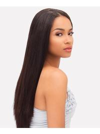Unique Indian Remy Hair Auburn Straight Long Wigs