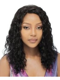 Suitable Black Curly Long Human Hair Full Lace Wigs