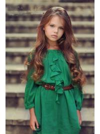 Braw Auburn Wavy Long Kids Wigs